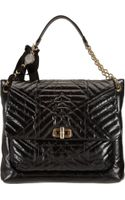 Lanvin Happy Large Quilted Shoulder Bag - Lyst
