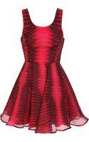 Felder Felder Enlarged Python-print Silk Dress - Lyst