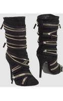 Giuseppe Zanotti x Balmain High-heeled Boots - Lyst