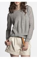 3.1 Phillip Lim Pullover with Overlay - Lyst