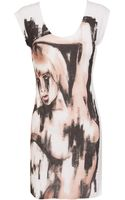 Beatrice Boyle Gaze Print Dress - Lyst