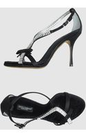 Dolce & Gabbana High-heeled Sandals - Lyst