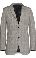 Alexander McQueen Prince Of Wales Check Suit Jacket - Lyst