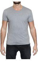 Dolce & Gabbana Raised Stitching Jersey T-shirt - Lyst