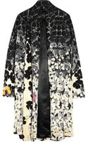 Vionnet Printed Wool-blend Coat - Lyst
