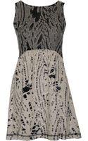 Sea Reverse Combo Dress - Lyst