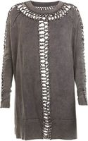 AllSaints Bea Laurentia Jumper Dress - Lyst