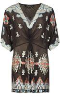 AllSaints Aztec Chariot Dress - Lyst