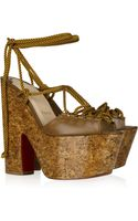Christian Louboutin Jerry 160 Lace-up Leather Sandals - Lyst