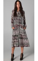 Preen By Thorton Bregazzi Aztec Tea Dress - Lyst