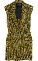 Thakoon Sleeveless Wool-blend Tweed Blazer - Lyst