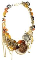 Little Glass Clementine Necklace - Lyst