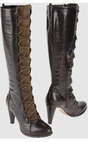 Pollini High Heeled Boots - Lyst