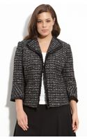Lafayette 148 New York Crop Tweed Jacket (plus) - Lyst