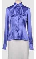 Laltramoda Long Sleeve Shirts - Lyst