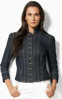 Lauren by Ralph Lauren Denim Jacket - Lyst
