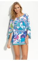 Trina Turk Under The Sea Tunic Cover-up - Lyst