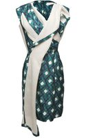 Peter Pilotto Thessa Asymmetrical Dress - Lyst