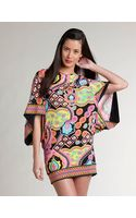 Trina Turk Patterned Cover-up Tunic - Lyst