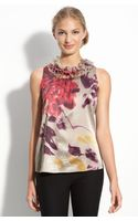 Elie Tahari Exclusive For Nordstrom Ivy Blouse - Lyst