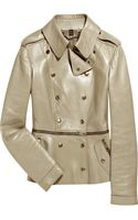 Burberry Prorsum Zipped Nappa Leather Jacket - Lyst