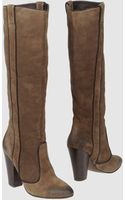 Ash High Heeled Boots - Lyst