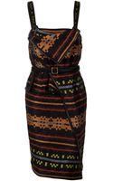 Proenza Schouler Bib Blanket Dress - Lyst