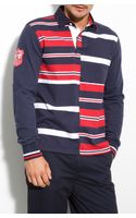 Brooks Brothers Rugby Stripe Polo - Lyst