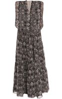Vanessa Bruno Mouseleine-print Dress - Lyst