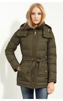 Burberry Brit Quilted Down Jacket - Lyst