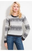 Burberry Brit Nordic Pattern Sweater - Lyst