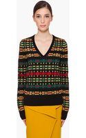 Proenza Schouler V-neck Knit Sweater - Lyst