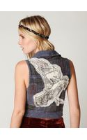 Free People We The Free Applique Raven Vest - Lyst