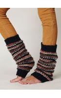 Free People League Stripe Legwarmer - Lyst