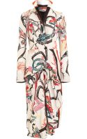 Balenciaga Exotic Print Dress - Lyst