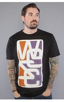 Wesc The Overlay Frame Tee in Black - Lyst