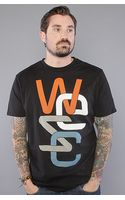 Wesc The Overlay No. 2 Tee in Black - Lyst