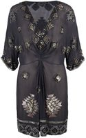 AllSaints Paloma Chariot Dress - Lyst