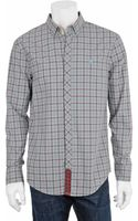 Richard Chai For Original Penguin Concealed Button-down Shirt - Lyst