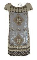 AllSaints Paloma Dress - Lyst