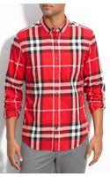 Burberry Brit Exploded Check Print Shirt - Lyst
