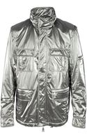 Richmond X Metallic Jacket - Lyst