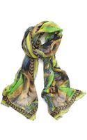 Matthew Williamson Multi Floral Scarf - Lyst