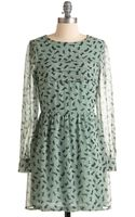 ModCloth Got A Feline Dress - Lyst