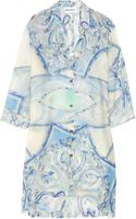 Emilio Pucci Oversized Printed Cotton-blend Voile Shirt - Lyst