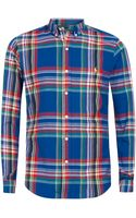 Polo Ralph Lauren Large Blue Check Shirt - Lyst