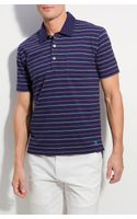 Brooks Brothers Multi Fine Stripe Jersey Polo - Lyst