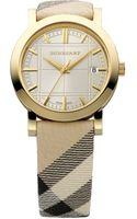Burberry Check Band Watch - Lyst