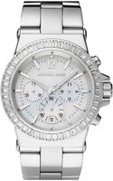 Michael by Michael Kors Michael Kors Bel Aire Crystal Bezel Chronograph Watch - Lyst