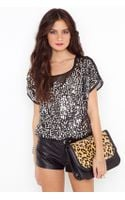 Nasty Gal Shattered Sequin Top - Lyst
